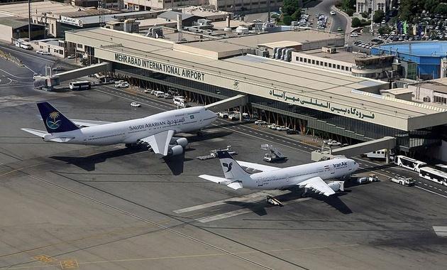 رکورد پروازهای نوروزی در فرودگاد مهرآباد شکست