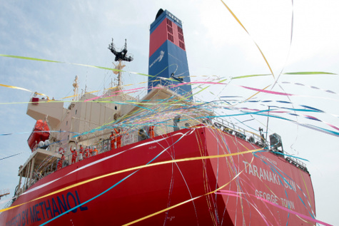Methanol-fueled vessels mark one year operation