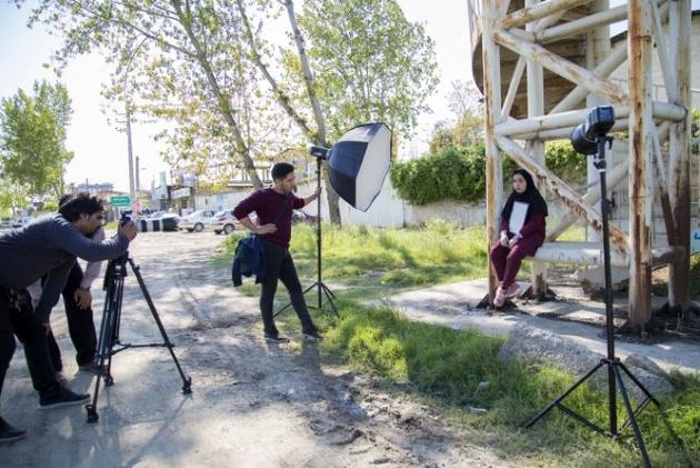 تولید فیلمهای آموزش رانندگی در راهداری مازندران