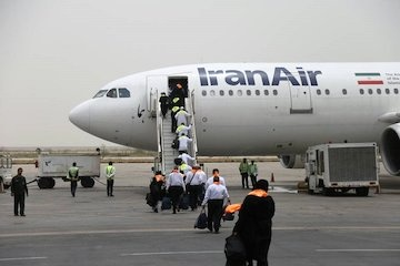 اعزام بیش از ۱۱۰۰ زائر سرزمین وحی از فرودگاه بندرعباس