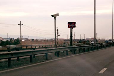 ۳۹ دوربین کنترل سرعت در محورهای استان مرکزی نصب میشود