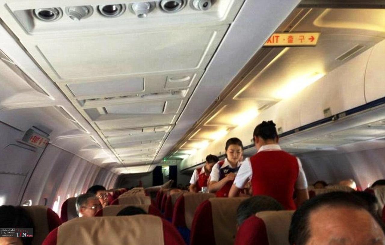 زندانی در هواپیما