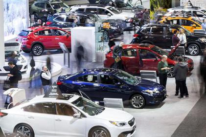 تصاویری از نمایشگاه بین المللی اتومبیل در کانادا