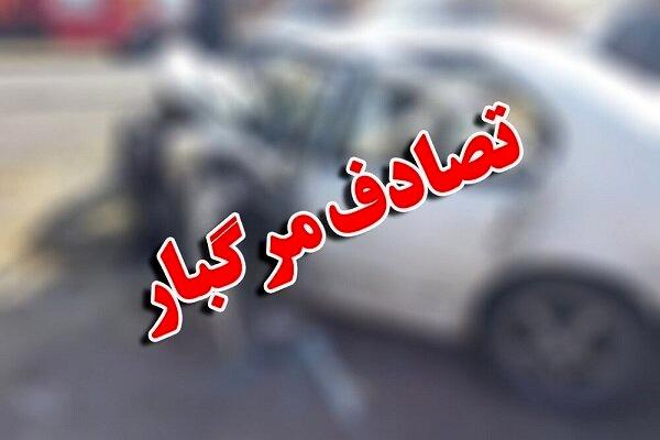 تصادف مرگبار در حاشیه جنوب تهران