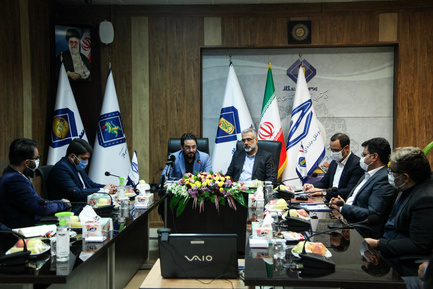 تفاهم نامه شرکت فجر جهاد و پرسی ایرام گاز