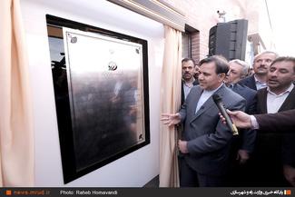 گزارش تصویری/ افتتاح و بهره برداری از دو پروژه ریلی در فیروزان