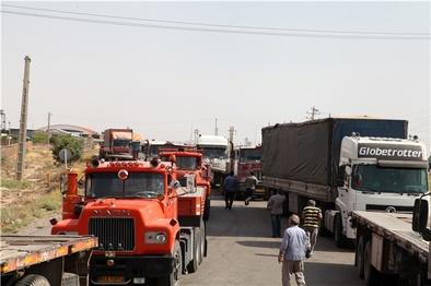 واکنش رانندگان و کامیونداران به تصمیمات تازه برای اجرای طرح تن-کیلومتر