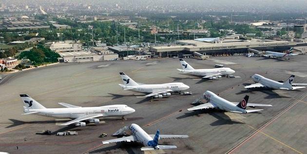 رشد ۱۸۲ درصدی پروازهای مهرآباد در نوروز