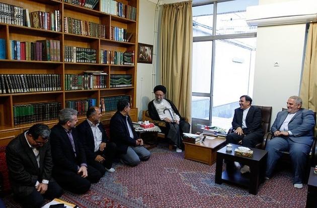 دیدار آخوندی با نماینده ولیفقیه در گلستان