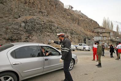 یکطرفه شدن جاده های هراز و کندوان در مازندران