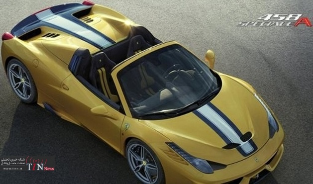 Ferrari weaves its magic with ۴۵۸ Speciale A spider