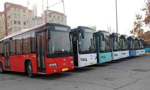 افزایش ساعات کاری ناوگان اتوبوسرانی تبریز