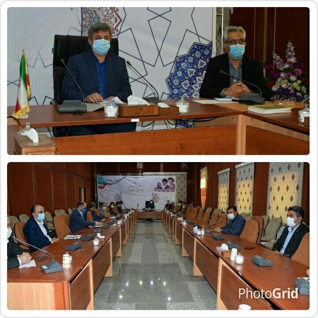 برگزاری جلسه شورای بانکهای شهرستان البرز به ریاست معاون سیاسی فرماندار