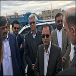 بازدید اعضای کمیسیون اجتماعی مجلس از پروژههای راه و شهرسازی حاشیه شهر زاهدان