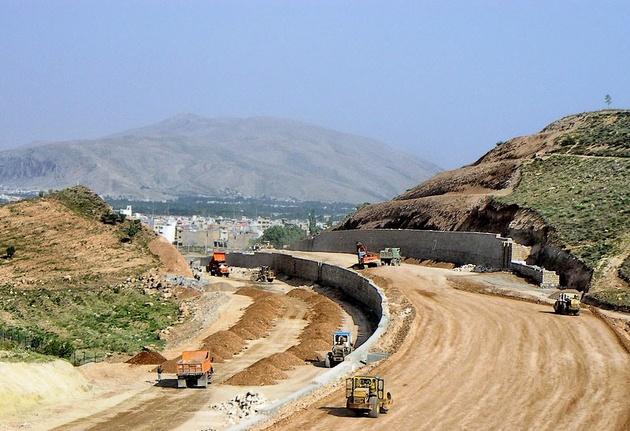 مناقصه پروژه اتصال محور مستقیم سیدان به بزرگراه شیراز - اصفهان