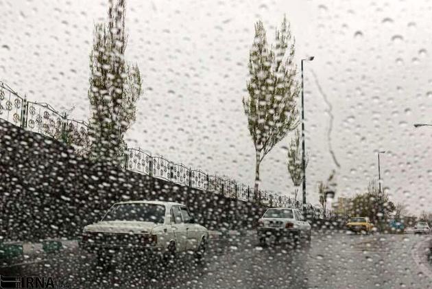 بارش برف و باران در بیشتر استانهای کشور