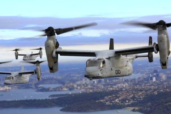 آمریکا عملیات جستجوی تفنگداران دریایی مفقود شده را تعلیق کرد