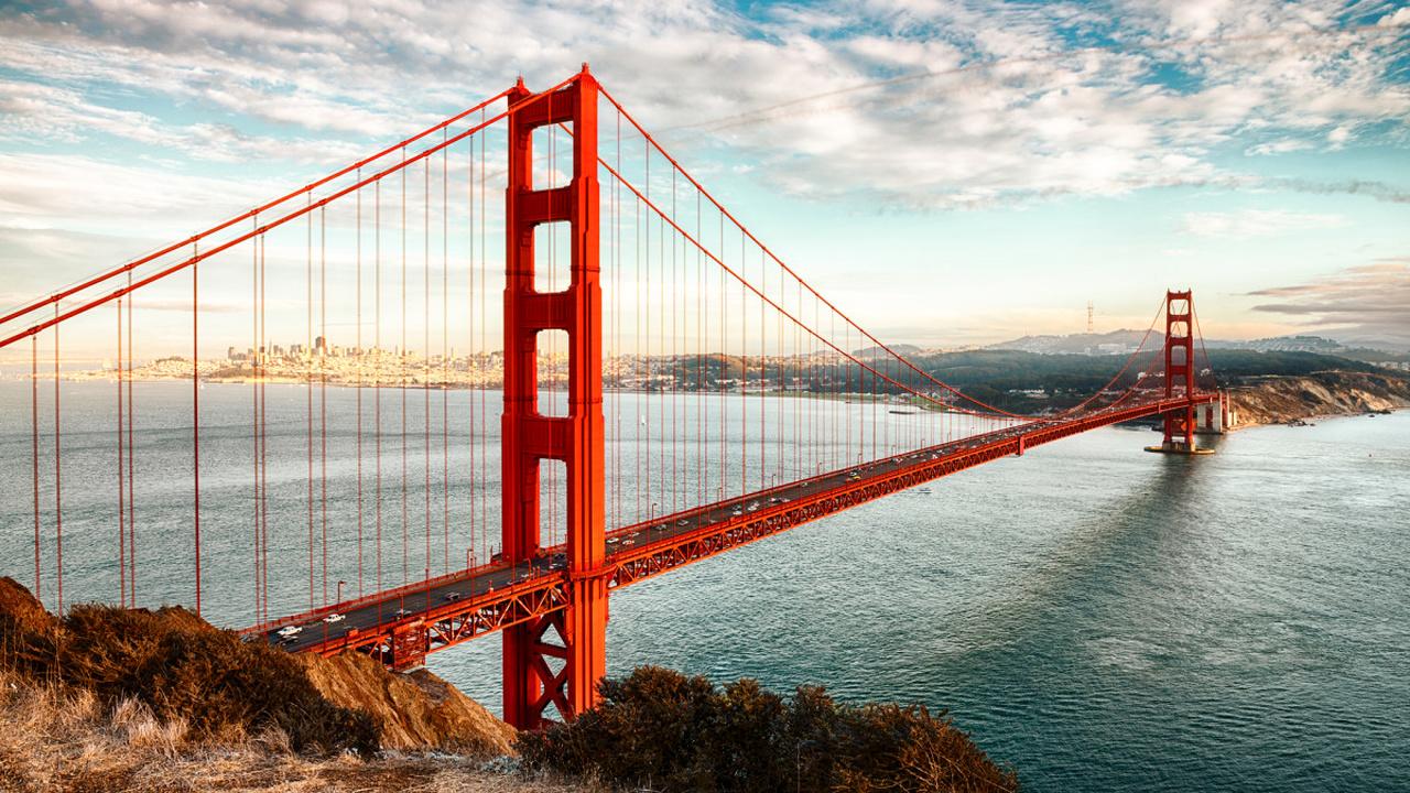 پل گلدن گیت (Golden Gate Bridge) - کالیفرنیا