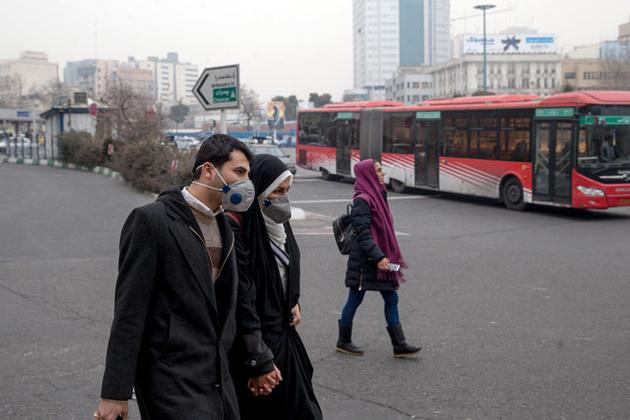 آلودگی هوای تهران در چهارمین روز متوالی