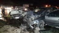 تصادف پژو و پیکان در نیشابور دو کشته بر جا گذاشت