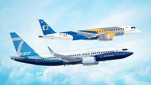Boeing to take 80% in Embraer commercial in JV