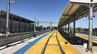 Depot safety system linked to signalling