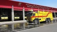تجهیز فرودگاههای کشور به لوازم آتش نشانی جدید در آستانه سال نو
