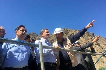 گزارش تصویری/ آغاز عملیات قطعه 2 آزاد راه تهران-شمال