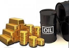 قیمت نفت و طلا در بازار جهانی