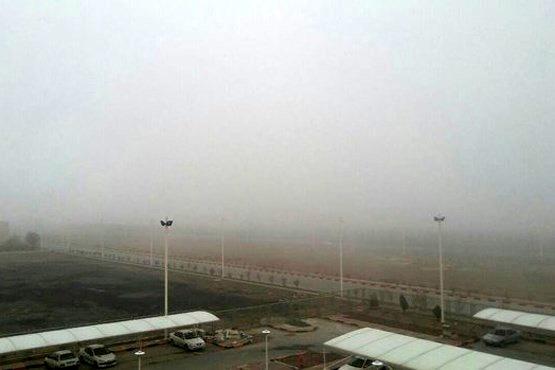 دید افقی فرودگاه زابل به هزار متر کاهش یافت