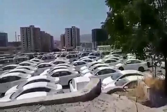 فیلم| استمداد یک راننده ترانزیت گرفتار در سلیمانیه عراق از مسئولان