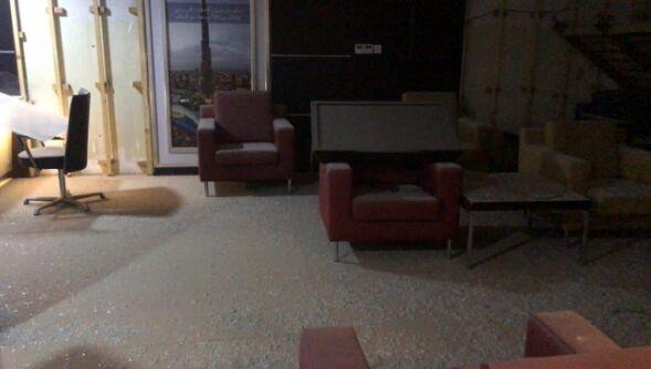 دفتر هواپیمایی امارات در انفجار بغداد آسیب دید