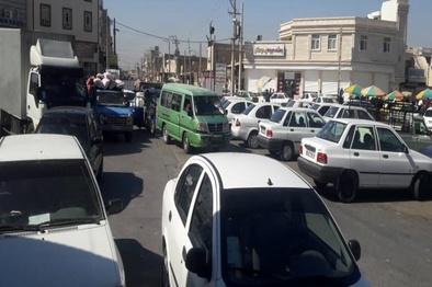 معمای حل نشدنی ترافیک در خیابان بنی هاشم اهواز