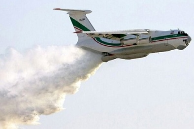 اعزام هواپیما و بالگردهای آتشنشان سپاه به ترکیه