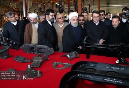 افتتاح خط تولید خودروی تجاری سنگین با نام «چاپار»