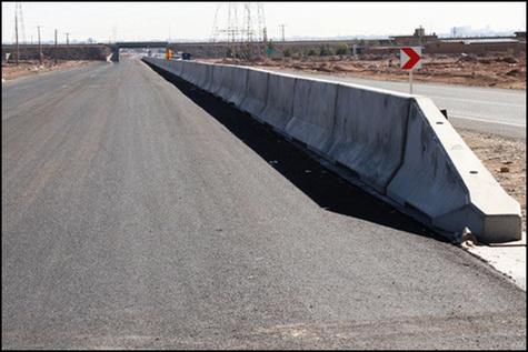 مناقصه تهیه و نصب نیوجرسی بلوک مفصلی در محورهای حوزه استحفاظی استان مازندران