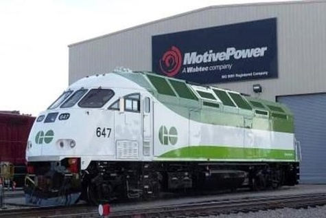 Metrolinx receives first Tier ۴ locomotive