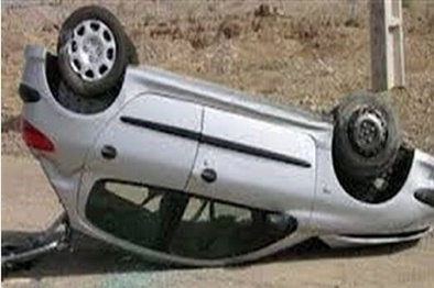 سرعت جنونآمیز خودرو ۲۰۶ در یزد، پنج نفر را راهی بیمارستان کرد