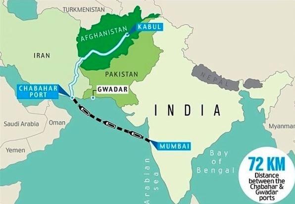 ورود اولین محموله صادراتی افغانستان از چابهار به هند