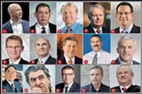 برترین مدیران عامل دنیا درسال ۲۰۱۴