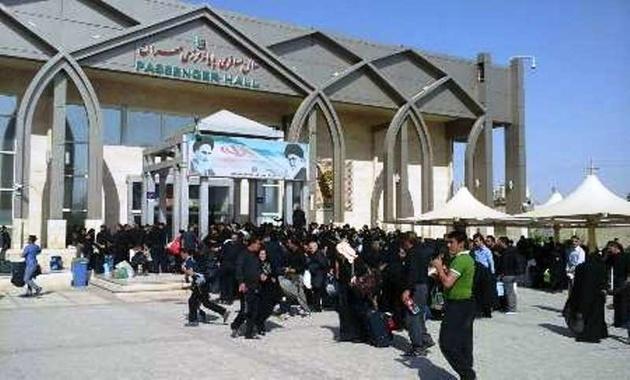 قطع اینترنت عراق و ازدحام مسافران در  مهران