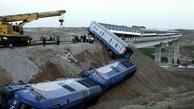 سرقت ریل حادثه آفرید: خروج یک قطار  از ریل در حوالی پرند