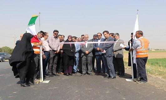 افتتاح طرح روکش آسفالت محور اسدآباد در همدان