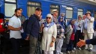 صدای سوت قطار گردشگری عقاب طلایی در تهران نواخته شد