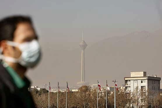 هوای تهران برای گروههای حساس ناسالم است