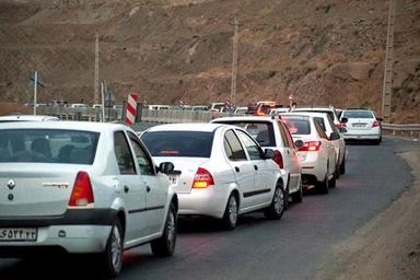 ترافیک سنگین از تهران تا قزوین