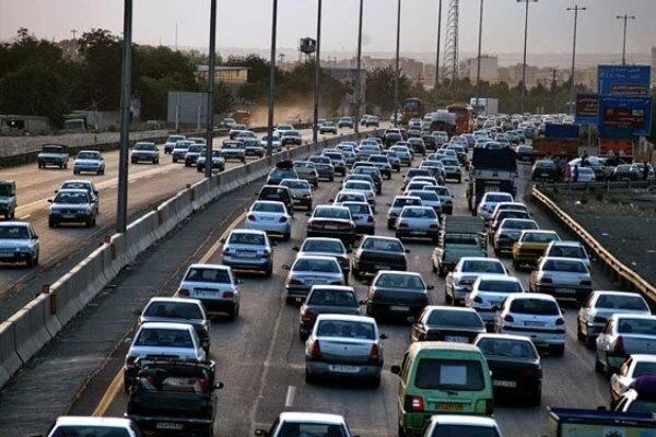 ترافیک در محورهای شمالی همچنان سنگین است