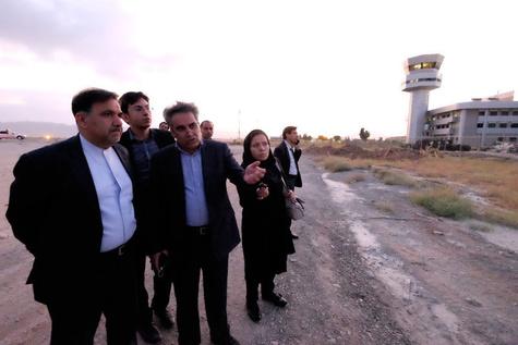 آخوندی خواستار تسریع ساخت ترمینال خارجی فرودگاه شیراز شد