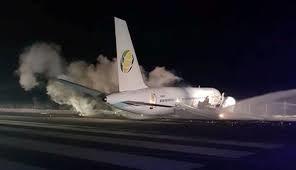 Fly Jamaica Boeing 757 Crash-Lands at Cheddi Jagan Airport