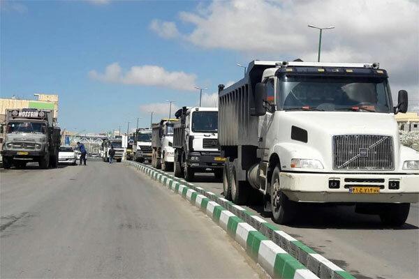 ۲ میلیون و ۹۴۸ هزار تن کالا در استان اردبیل جابجا شد